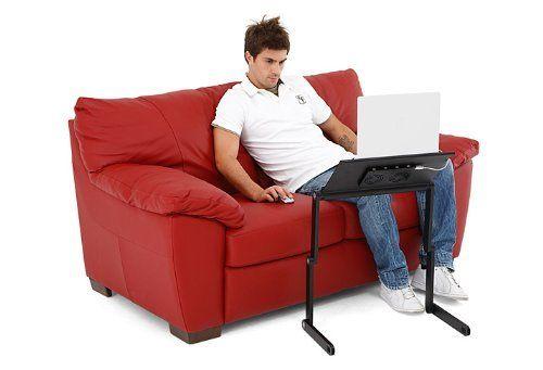 gbl support ordinateur portable table de lit pliable pour ordinateur portable avec plateau de. Black Bedroom Furniture Sets. Home Design Ideas