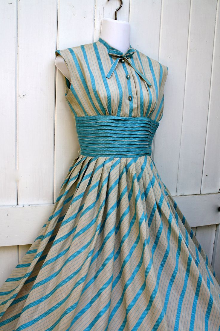 Gorgeous vintage 50s/60s Easter Dress...Etsy