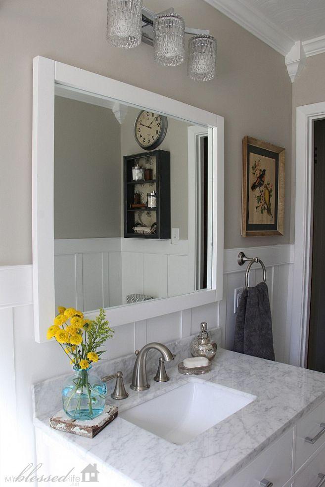 Cottage-Style Bathroom Makeover :: Hometalk