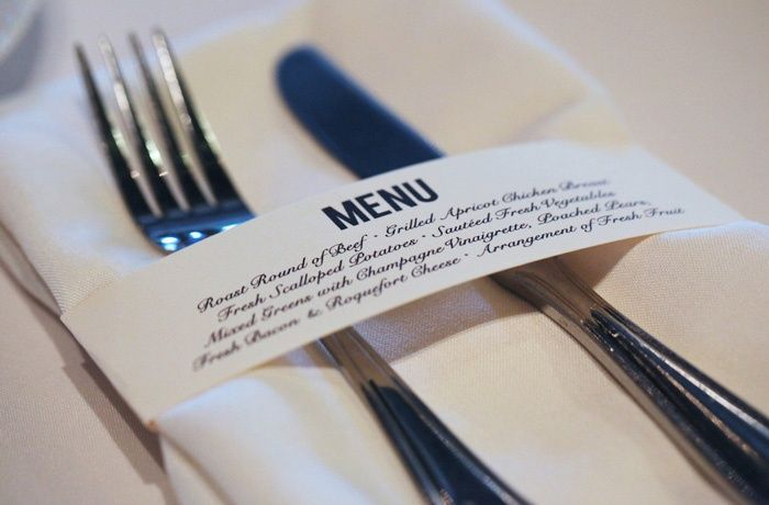 Les 25 meilleures id es de la cat gorie porte menu mariage for Idee menu original