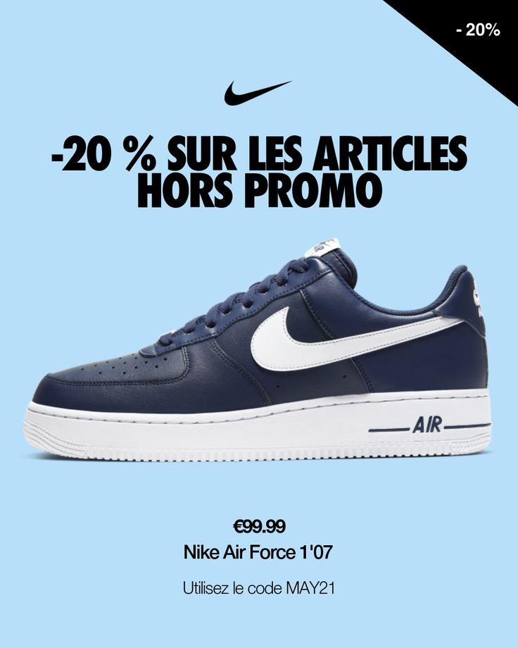Nike Air Force 1'07 en 2021   Nike air force, Chaussure nike air ...
