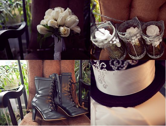 A Victorian Era Literature Do It Yourself Wedding from Ted Nghiem