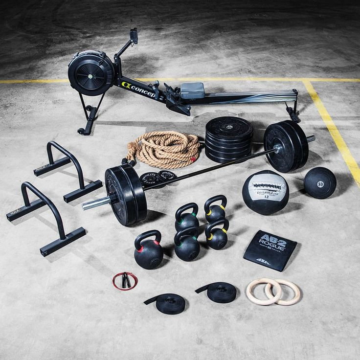 The Warrior Package allows the user to perform any CrossFit® workout, plus Olympic Weightlifting, Powerlifting, Kettlebells, Rowing, and more. Visit Rogue for details.