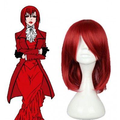 Black Butler - Madame Red Cosplay Wig