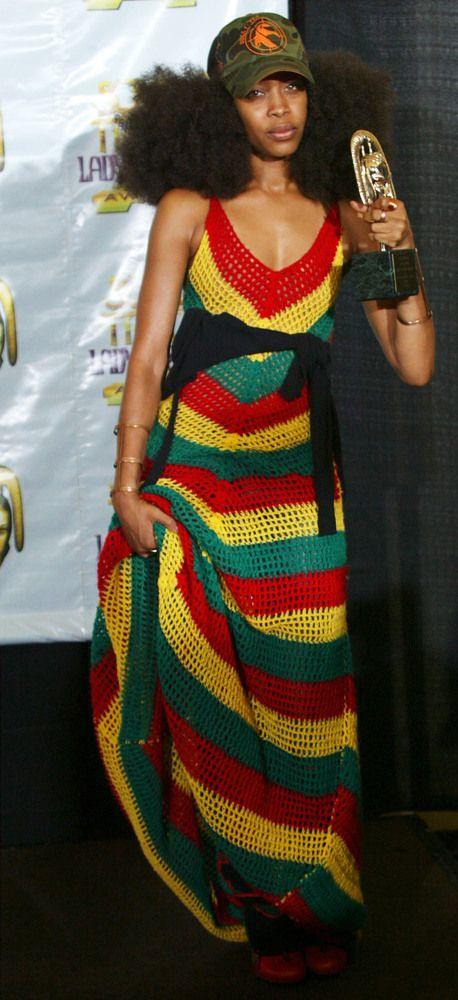 Erykah Badu Style Evolution
