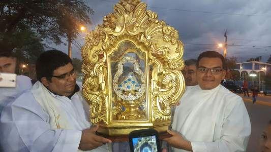 Virgen de Suyapa recorre municipios de la zona norte - Diario La Prensa