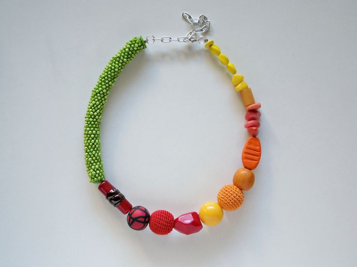 Rainbow Necklace.
