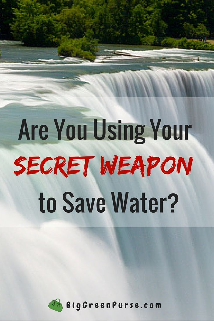 Treat your toilet like the special secret water-saving weapon it is!