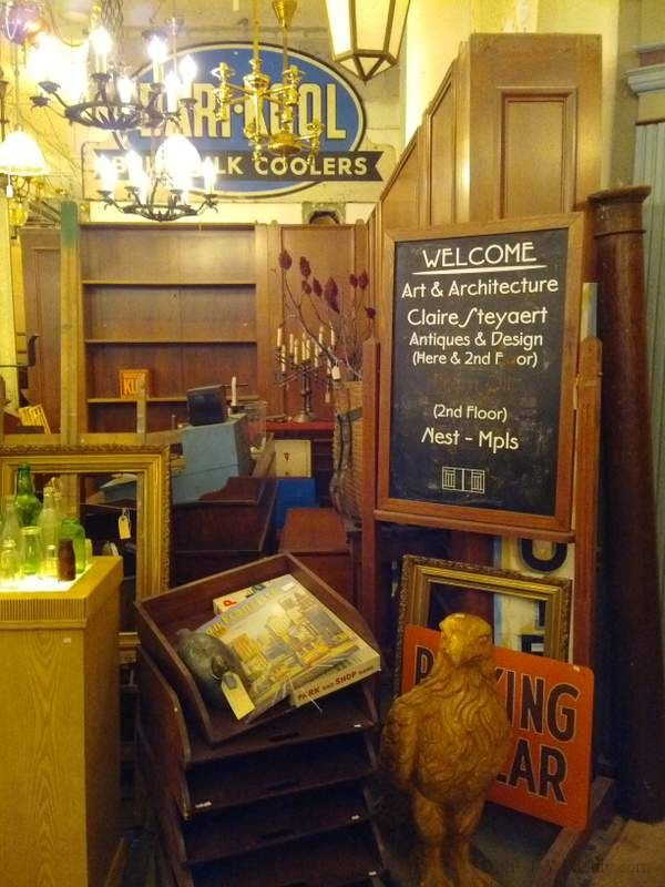 Review of Art & Architecture salvage in Minneapolis