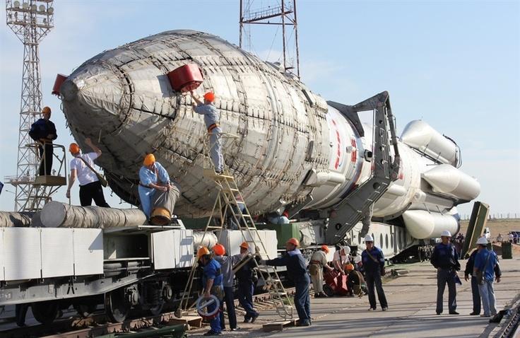 Russia's Proton-M Rocket: Proton M Rockets, Kazakhstan Baikonur, Russia Protonm, Abandoned Baikonur, Protonm Rockets, Baikonur Cosmodrom, Russia Proton M, Baikonur Spaceport, Stars Cities