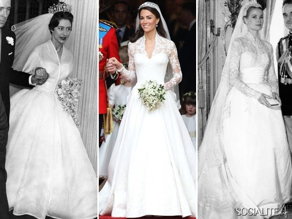 picture of wedding dress worn in steel magnolias | Who Wore It Best: The Royal Wedding Edition [PHOTOS] - Socialite Life