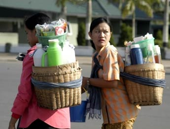 Common sights in Javanese are lovely Javanese ladies with heavy baskets full of herbal tonic bottles strapped to their backs.