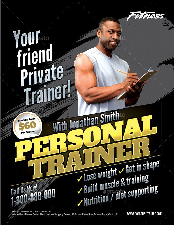 Fitness Flyer Bundle Fitness, Flyer, Bundle Fitness