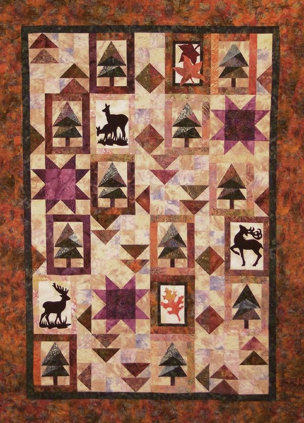 47 best Quilts - camo images on Pinterest | Daughters, Decor ... : deer quilt patterns - Adamdwight.com