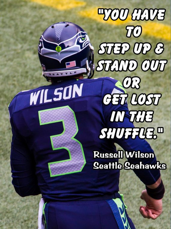 Russell Wilson Poster Seattle Seahawks Photo by ArleyArtEmporium, $15.99