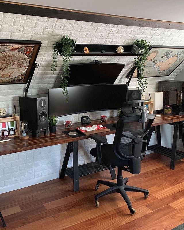 Workspaces In 2020 Home Office Setup Home Office Design Home