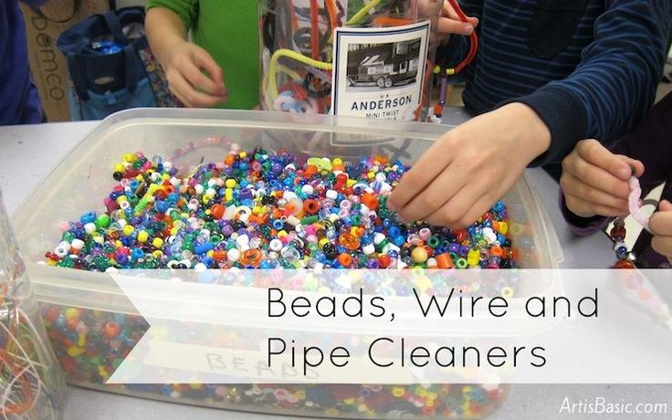 Fun art centers (beads, kinetic sand, stencil/airbrush, free draw)
