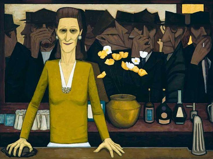The bar - by the great Australian artist... http://kellygriffin.com.au/2010/02/john-brack/#