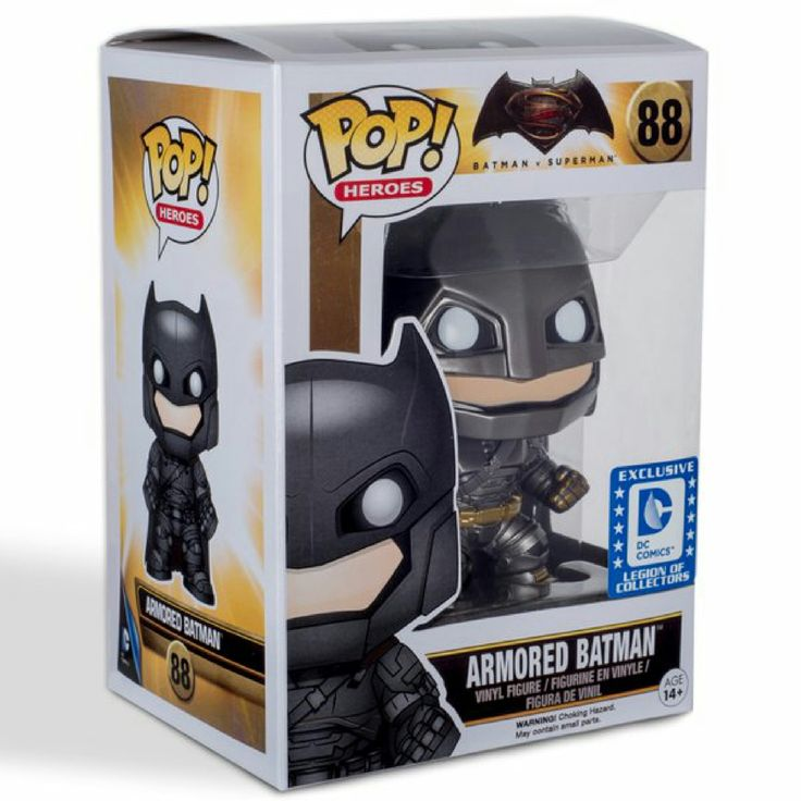 Armored Batman Pop! Heroes Funko POP! Vinyl