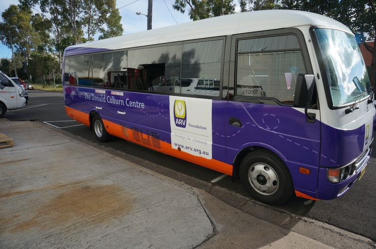 Cunneen Signs - Anglican Retirement Village Full vehicle wrap on a  Bus