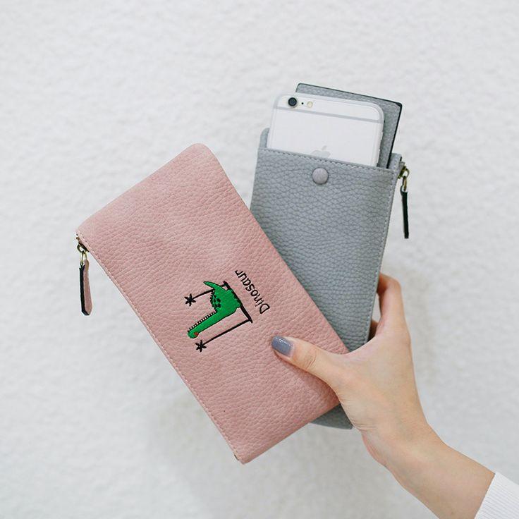 2016 free shipping  fashion new women long wallet coin purse PU Square student sweet zip thin Clutch women mini wallet