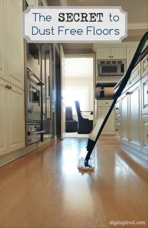 how to clean construction dust from wood floors
