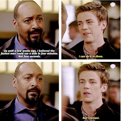 The Flash - Barry and Joe #1.2 #Season1