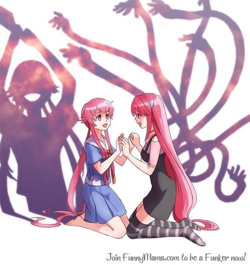 Elfenlied and future diary