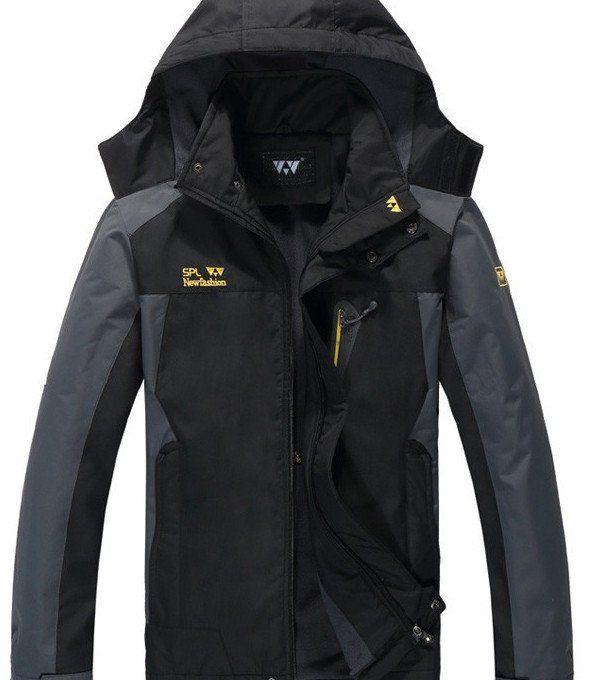 Hooded Thermal Anorak Winter Overcoat Fleece  jacket  Plus Size XL to 7XL Waterproof Outerwear