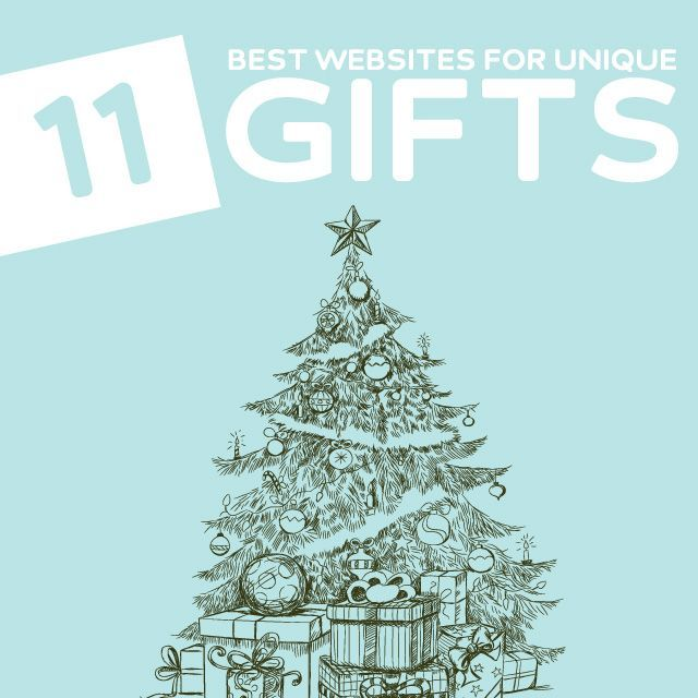 11 Best Websites to Find Unique and Unusual Christmas Gifts- these are great sites to find gifts that are out of the ordinary.