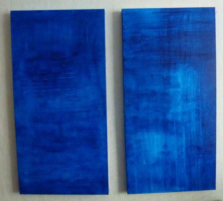 Fresh Air II, Sirkkaliisa Virtanen, acrylpainting. galleria.sirkkaliisa.net