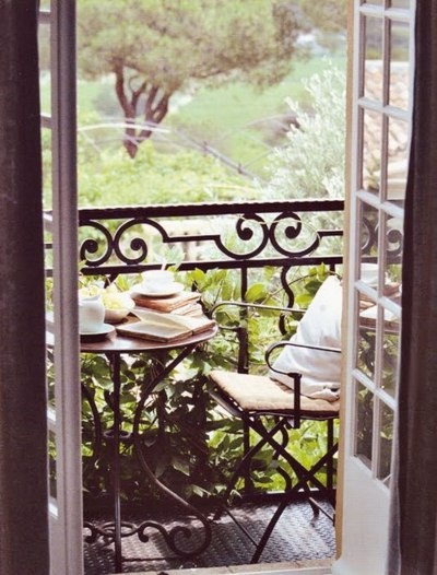 a good morning: Books, Small Balconies, Teas Time, Breakfast, Mornings Coff, Places, Terraces, Porches, Dreams Patio