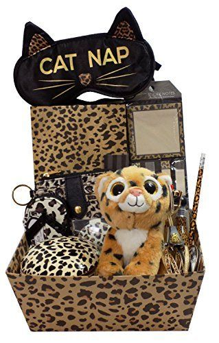 45 best best easter basket gifts ever images on pinterest best glamorous leopard lovers gift basket perfect for birthdays christmas easter and more negle Gallery