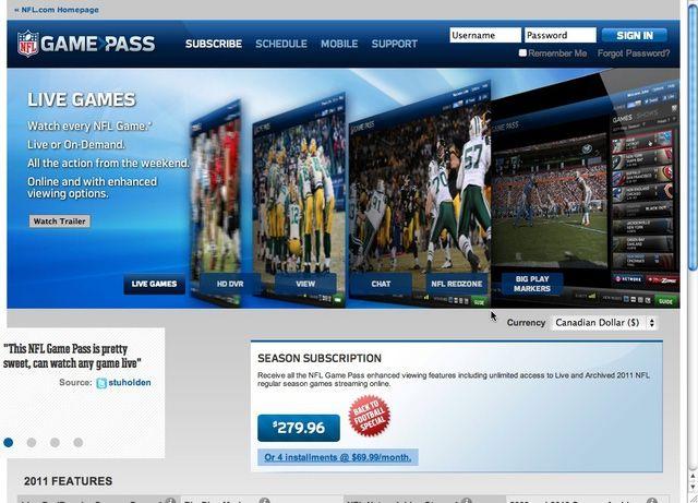 conoce cinco opciones confiables para ver juegos de la nfl en internet ver juegos nfl y internet
