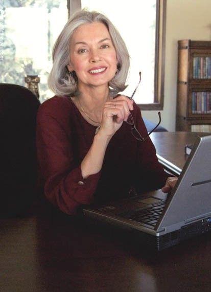 Margaret Genevieve Walker (nee McKensie), Owner and General Manager, KAOC-TV 4:  Model - Sherry Bruff, Donna Baldwin Agency