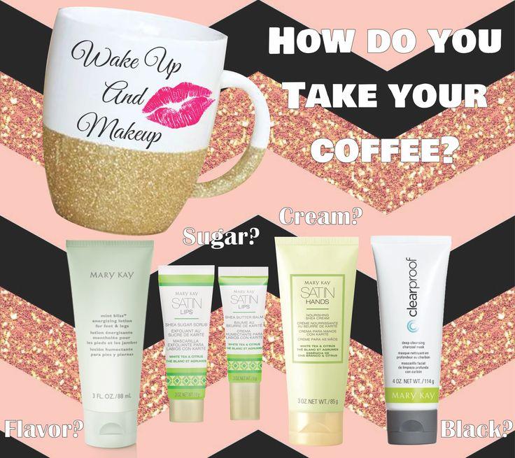 Happy National Coffee Day!! How do you take your coffee? #wakeupandmakeup #marykay www.marykay.com/jesseldurrant 208-541-3698