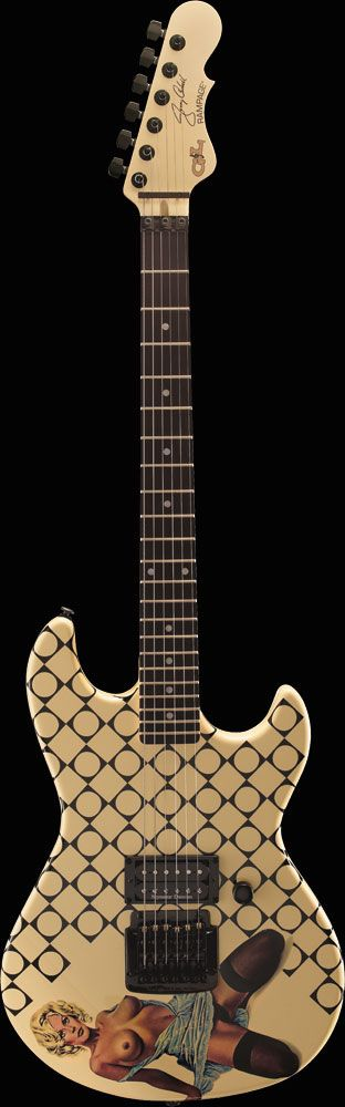 G&L Guitars - Rampage - Gerry Cantrel signature blue dress