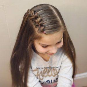 Best Braided Hairstyles for Little Girls #Little #Girls #Braids
