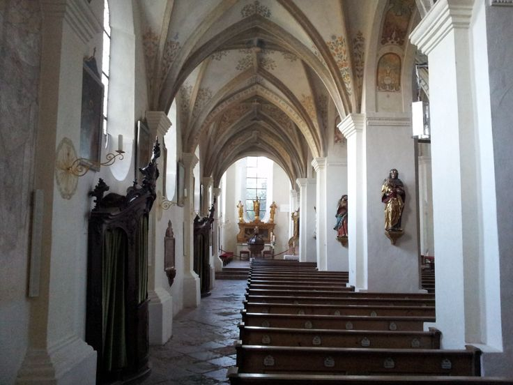 Side nave in St. Lambert, Seeon