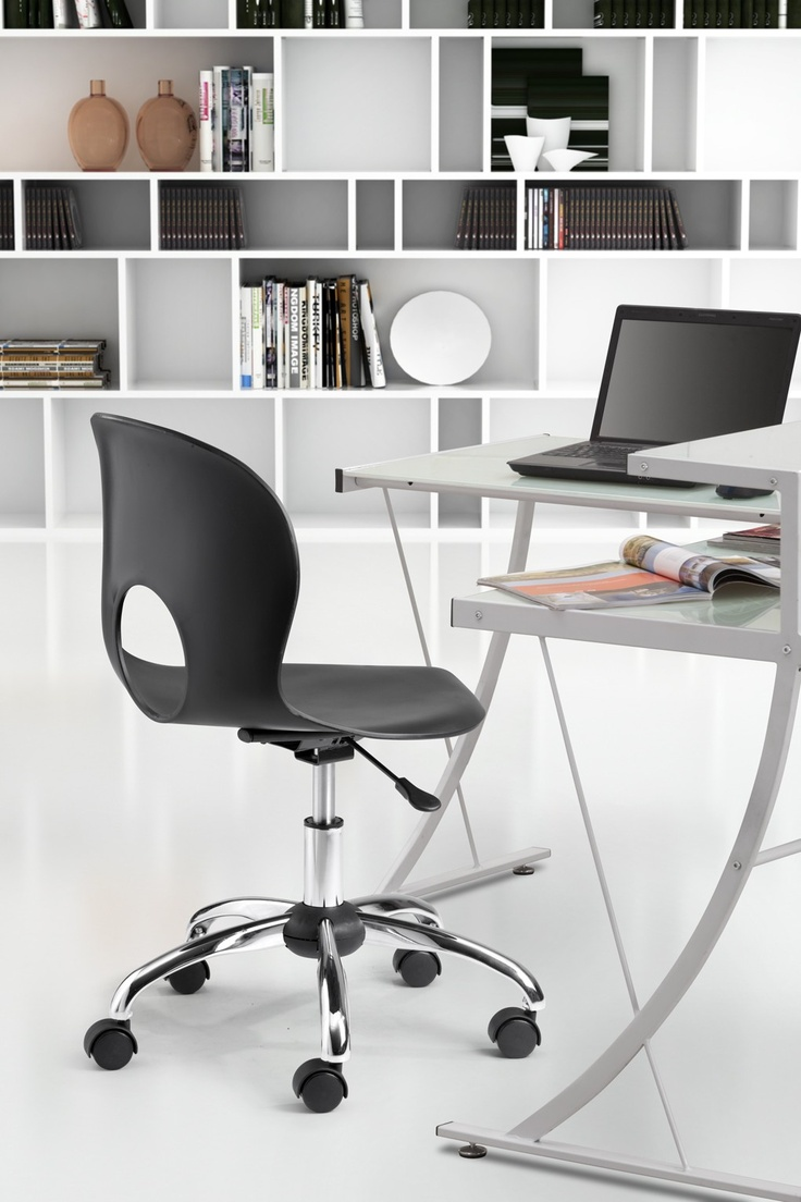 Pinhole Office Chair Black   $143.99 This Item Has Additional $avings At  Checkout, See · Modern Office ChairsModern ...