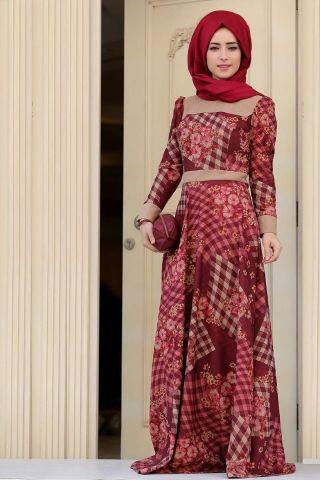 Zehrace Elenor Tesettür Elbise