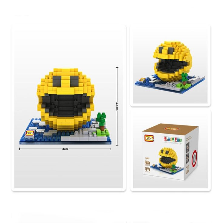 14.13$  Watch now - http://ali2d1.shopchina.info/go.php?t=32792866257 - Classic Pacman Game LOZ Blocks model toys brinquedos kids boy girl DIY toy juguetes infantil jouet enfant Birthday gift  #buyonline
