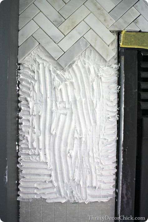 Tips on tiling a fireplace surround