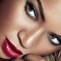 макияж для темной кожи