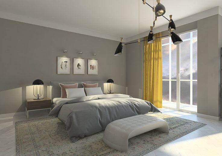 Интерьер спальни в современном стиле Санкт-Петербург
