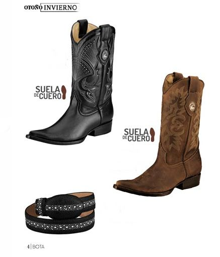 Botas vaqueras de piel de Pakar. Botas puntiagudas, botas de piel, botas de hombre, botas de moda