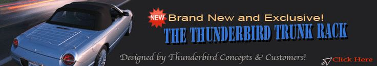 2002 Ford Thunderbird Accessories And Parts Online Store