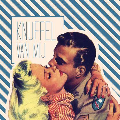 ♥Kaartje2go - Valentijnskaarten - Vintage Knuffel