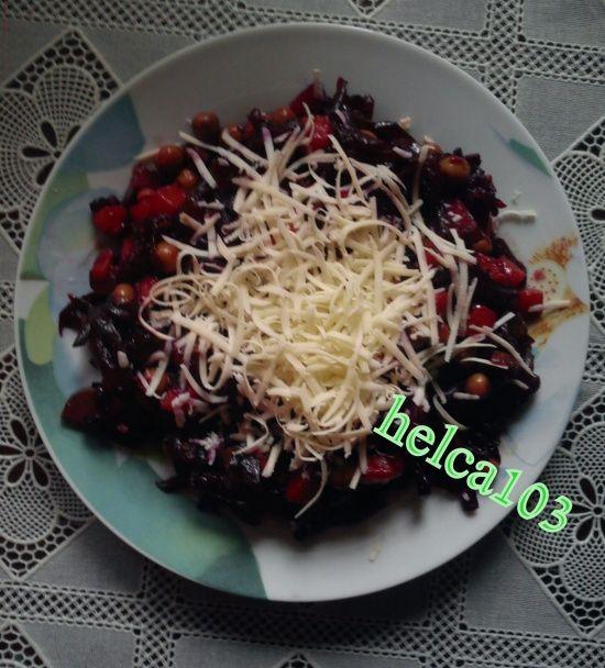 Cviklový šalát na večeru (fotorecept) - obrázok 4