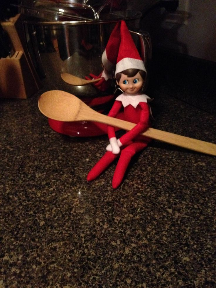 What holiday recipes do you suggest for our Elf on the Shelf to try? #elfontheshelf